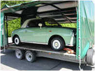 Classic car storage & transportation