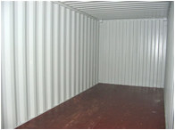 Inside an Empty Furniture Storage Container
